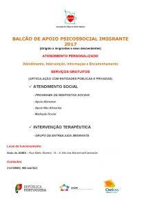 Read more about the article Balcão de Apoio Psicossocial Imigrante