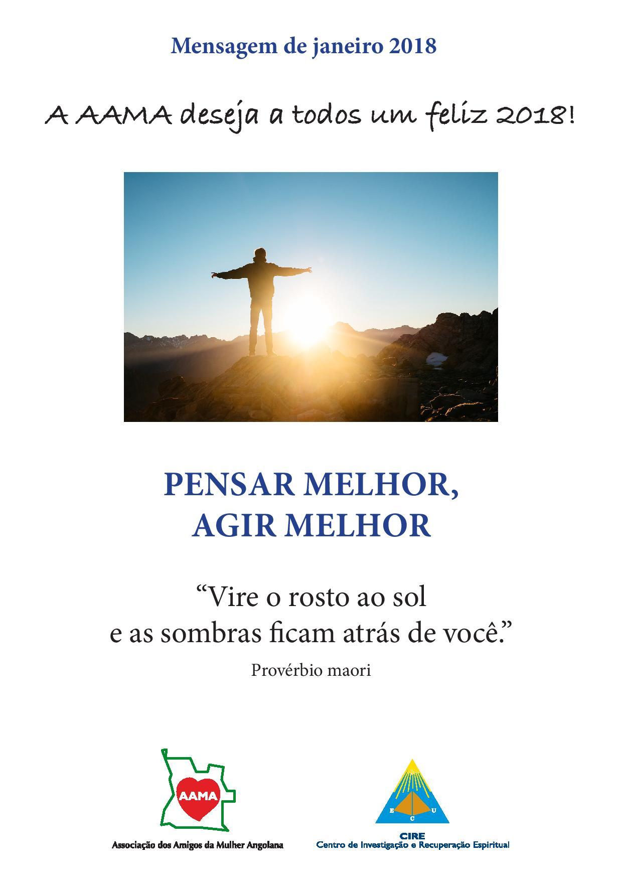You are currently viewing Mensagem de Janeiro