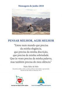 Read more about the article Mensagem de Junho