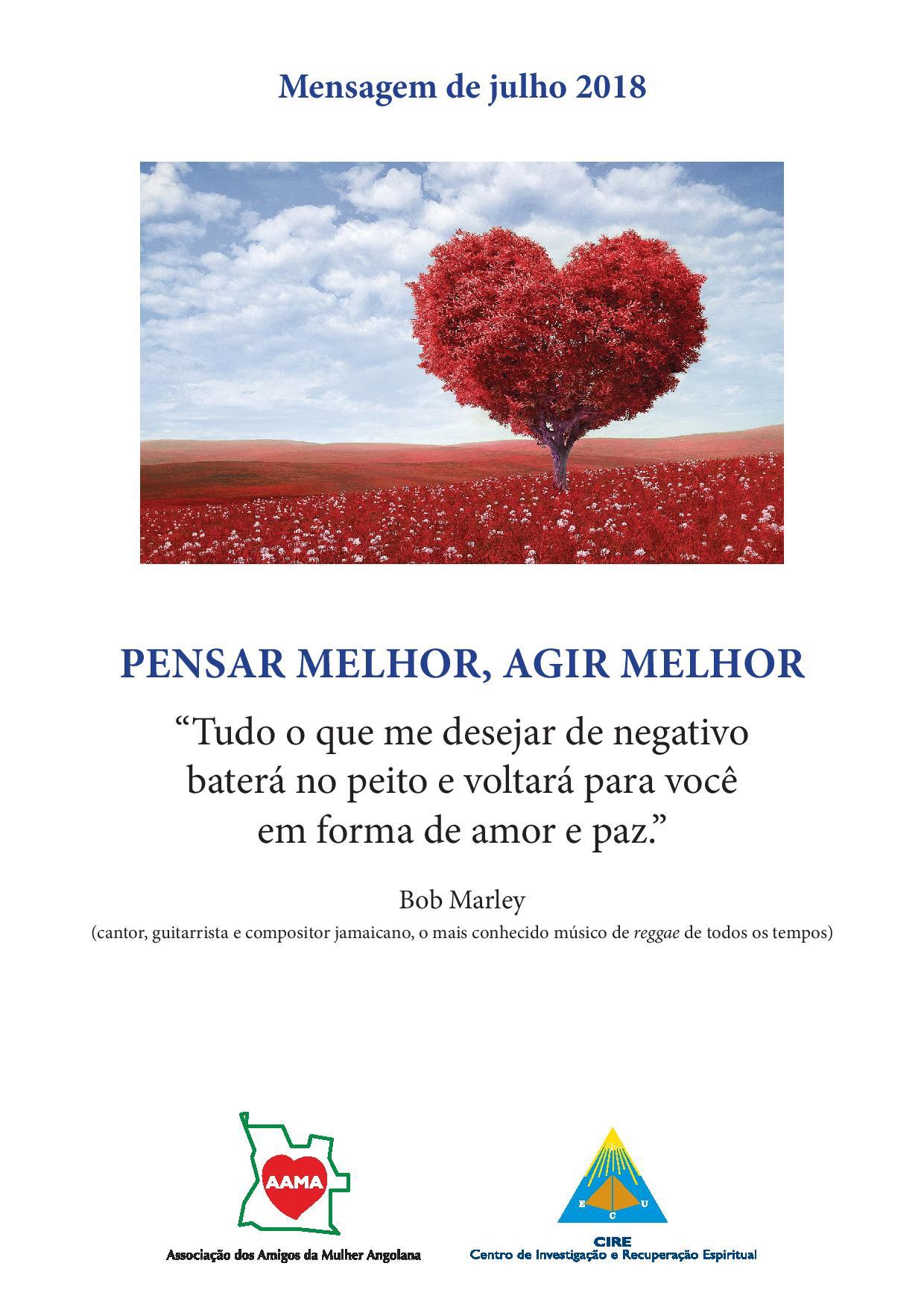 Read more about the article Mensagem de Julho