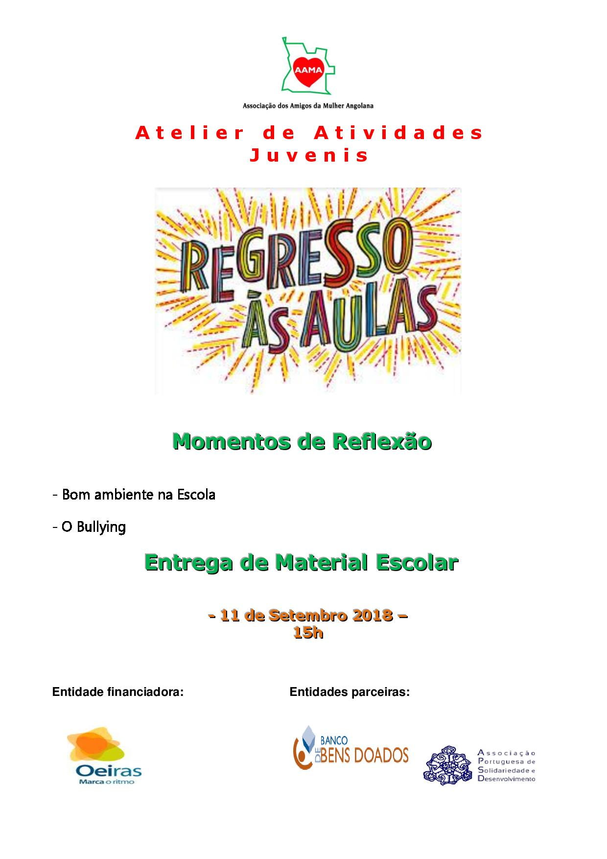 Read more about the article Regresso Às Aulas