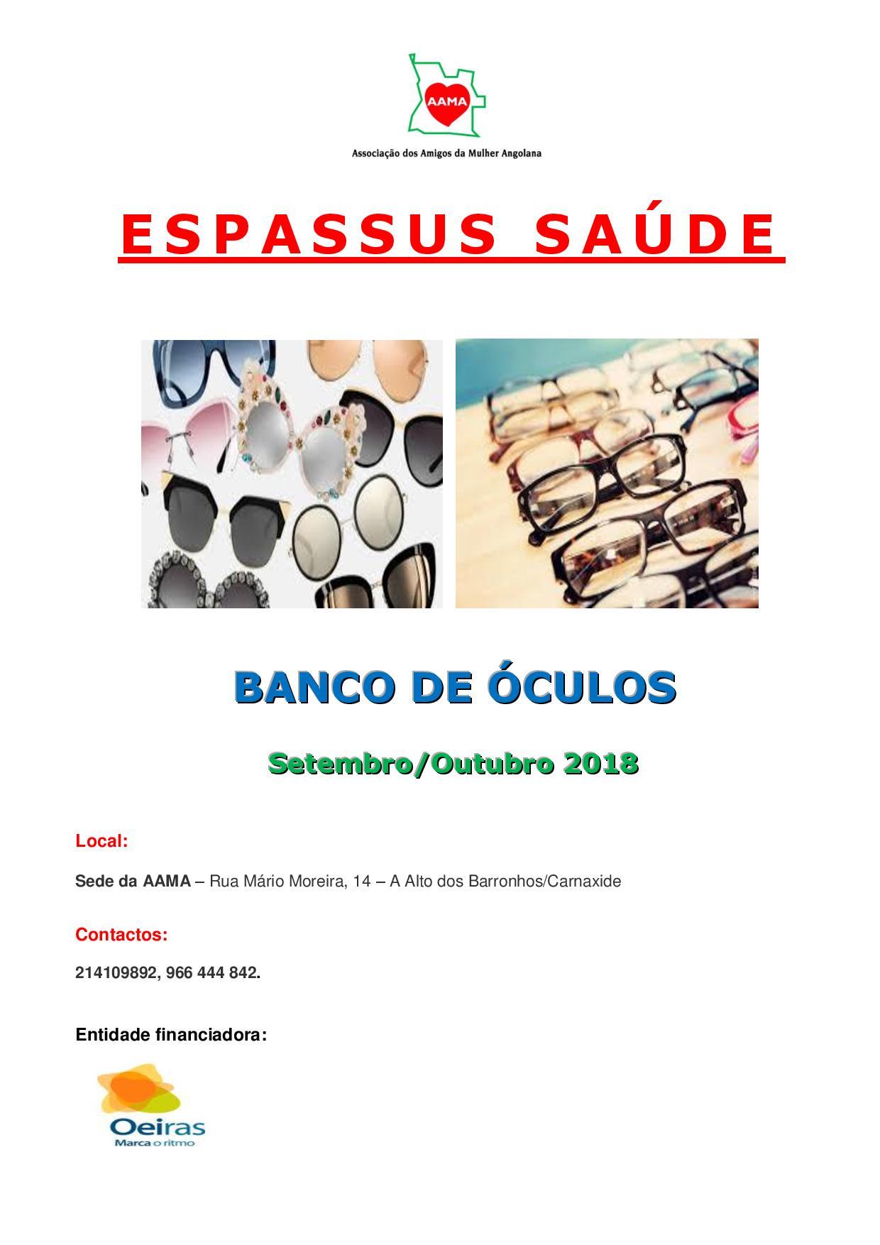 Banco de Óculos
