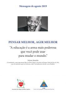 Read more about the article Mensagem de Agosto