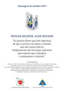Read more about the article Mensagem de Outubro