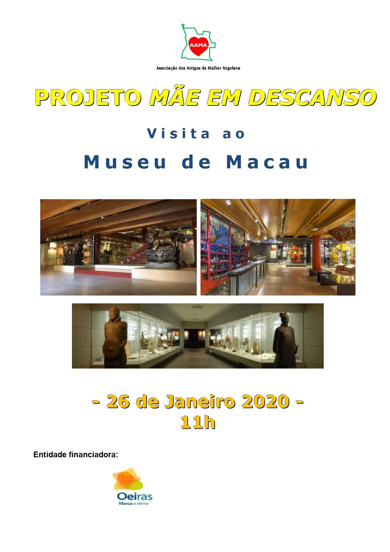 Visita ao Museu de Macau