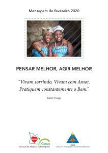 Read more about the article Mensagem de Fevereiro