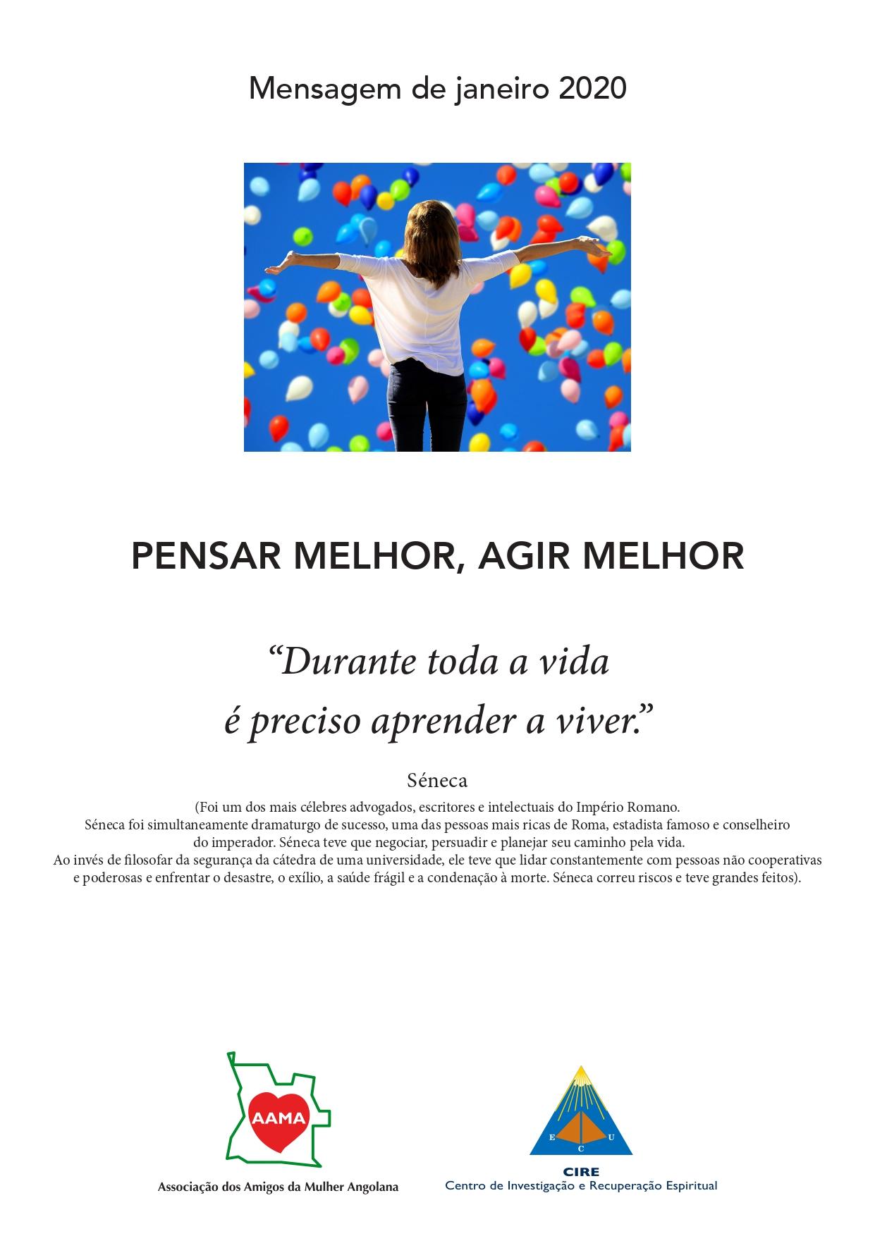 Mensagem de Janeiro