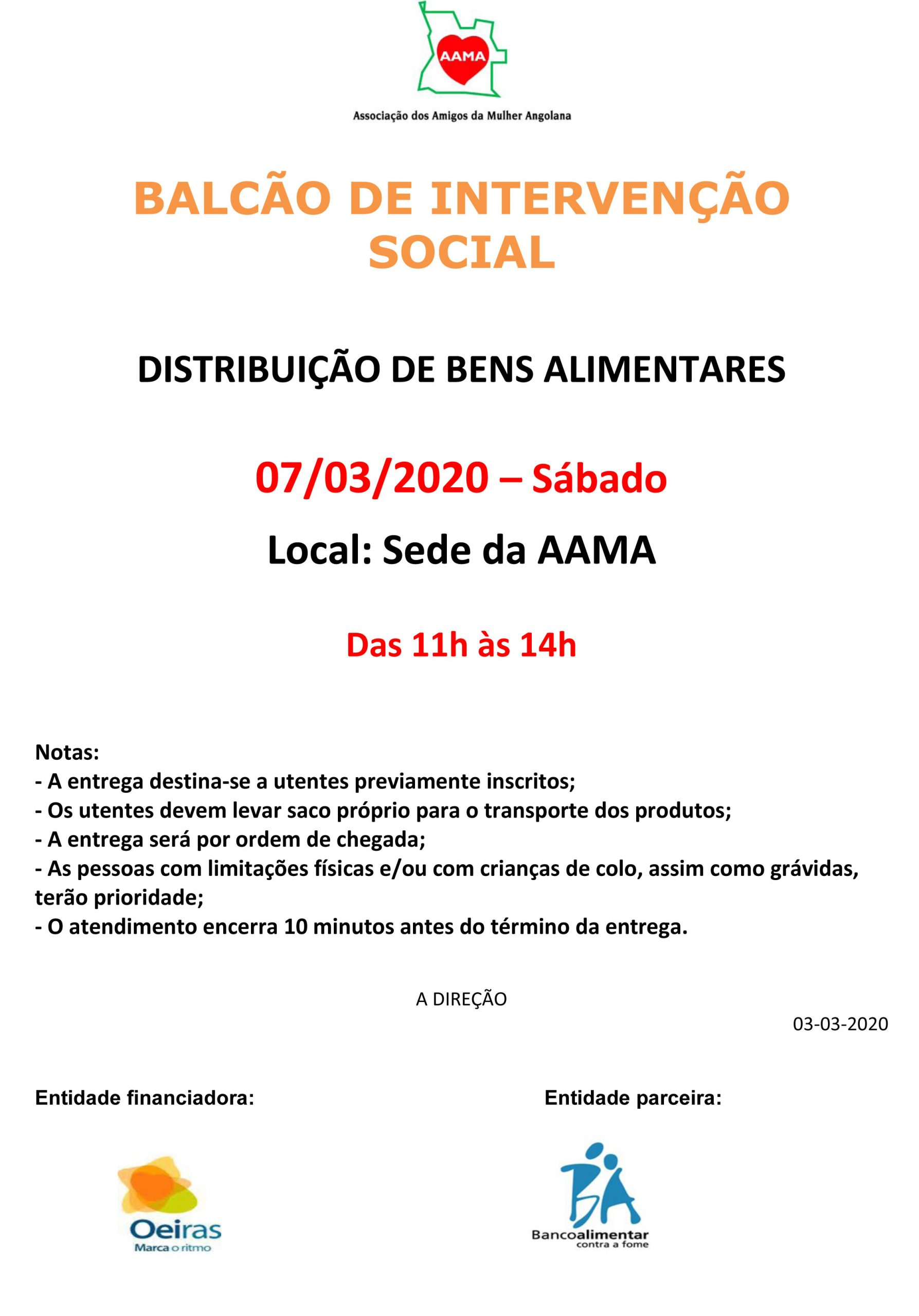 You are currently viewing Distribuição de Bens Alimentares