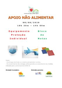 Read more about the article Apoio Não Alimentar