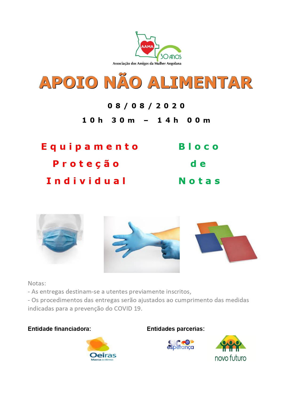 You are currently viewing Apoio Não Alimentar