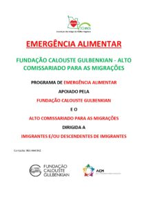 Read more about the article Emergência Alimentar