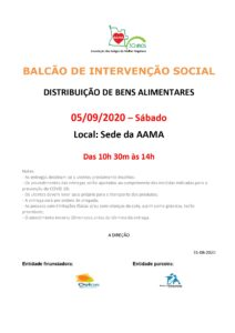Read more about the article Distribuição de Bens Alimentares